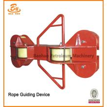Rope Guiding Device For Drawworks Rig Drilling