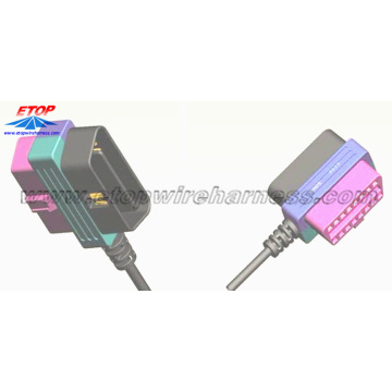 OBD Connector Female To Male Cable