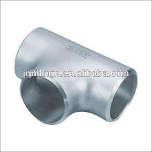 Conexiones de tubería forjada astm ss304 T de acero inoxidable igual