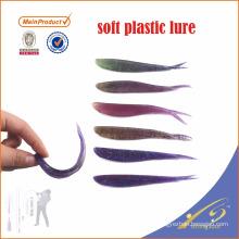 SLL023 divers couleur appâts artificiels leurre de pêche shad soft appât