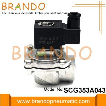 ASCO Reemplazo SCG353A043 Válvula de chorro de pulso de 3/4 '' DC24V