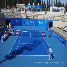 China más barato 2017 venta caliente PVC Rolling Tennis Floor