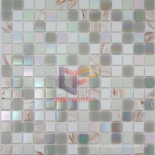 Gold Line Decorated Glass Mosaic (CSJ43)