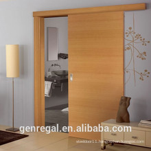 Classic design wooden interior sliding door