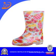 Botas de PVC impermeable para niños Zapatos de niños