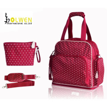 Cute Pink Pots Diaper Backpack (DW-MO1439)