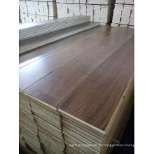 Plancher en bois de noyer d'ingénierie de 3 couches