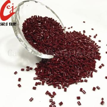 Red Multicolour Masterbatch Granules