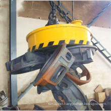 Steel plate lifting magnet for overhead crane