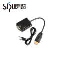 SIPU ethernet vga rca vga to ethernet converter vga to rca cable