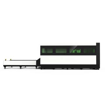 Quadrado da tubulação / cortador redondo do laser do CNC da fibra tubo