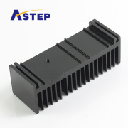 Anodized black heat sink for home appliances/auto parts/medical apparatus