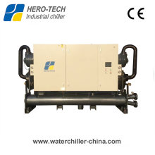 450kw -30c Low Temperature Water Cooled Glycol Screw Chiller for Air Separation
