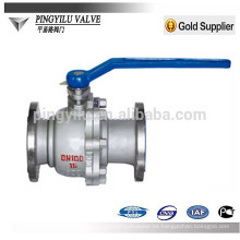 China que produce la válvula de bola de acero fundido dn40 Q41F / H-16/25/40 / 64C con la alta calidad mejor que wenzhou