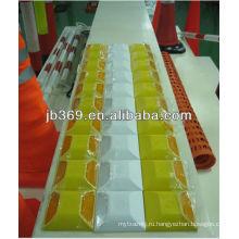 желтый/ белый высокое качество стержень дороги для безопасности дорожного движения