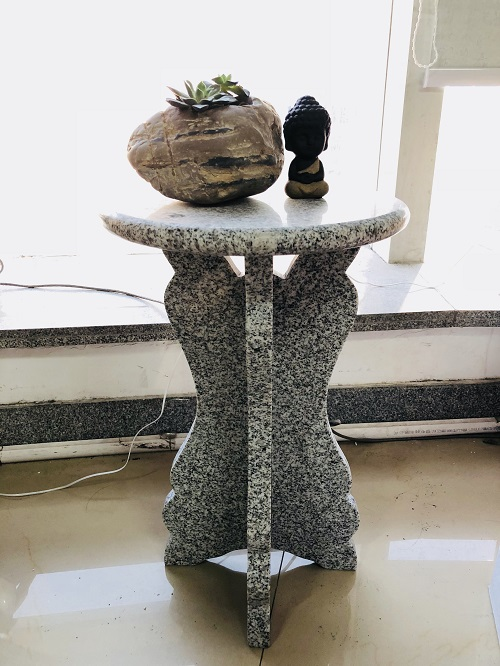 Natural Stone Side Table