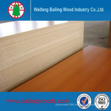 E1/E2 Grade Melamine Laminated MDF Use for Cabinet