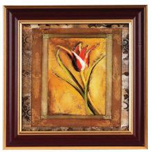 Brun avec cadre Photo doré photo traditionnelle