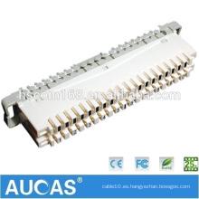 Copper Desconexión de 10 pares LSA Perfil Módulo Krone / 10 pares LSA Connector / Krone Module
