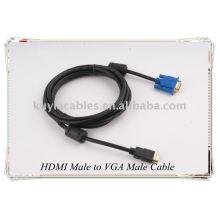 Cable macho HDMI a VGA macho HD-15 Cable