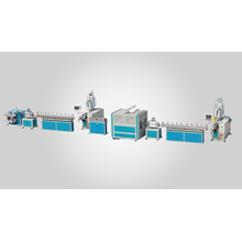 High strength PVC fibre reinforced hose extruding machine