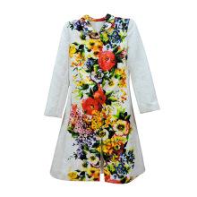 Long Sleeve Print Fashion Women Clothes