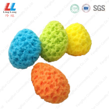 Egg shape household seaweed sponge