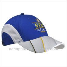 Gorras de béisbol modificadas para requisitos particulares del bordado del algodón de la alta calidad