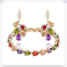 Jóias de cristal acessórios de moda set moda jóias (ajs190)