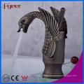Fyeer Blackened Swan Basin Faucet
