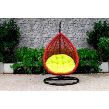 Greatly Unique and Durable Outdoor Patio Garden Wicker Swing Chair Poly Rattan Hammock