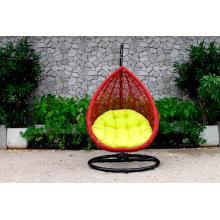Muito Único e Durável Exterior Pátio Garden Wicker Swing Chair Poly Rattan Hammock