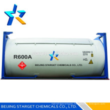 Isobutane gas R600a as foaming agent, refrigerants