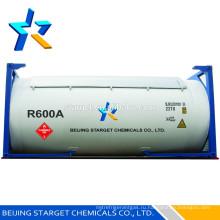 Хладагент r600a с высокой степенью чистоты 99,9%