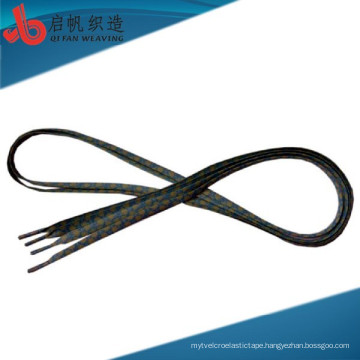 China Manufacture customize Eco-friendly Okeo-Tex Standard Fashion Polyester colored shoelace