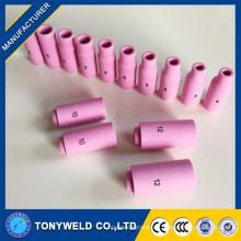 Tig antorcha de soldadura 10N boquillas de cerámica tamaño 8 10 12