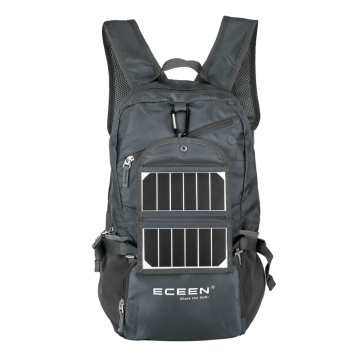 Solar backpack with lightweight,Tough and waterproof solar panels,perfect for gifts