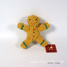 Cookie Doll Twisted Cotton Rope Dog Chew Toy