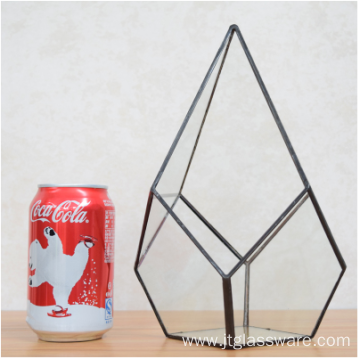 Good Quality for Geometric Terrarium Wholesale Martini Glass Vases Square Glass Vase supply to Tajikistan Suppliers