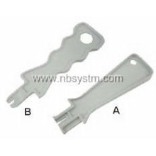 Easy Punch Down Tool A: Krone type. B: 110 type