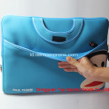 Paul Frank Blue Tas Laptop Neoprene Tahan Air