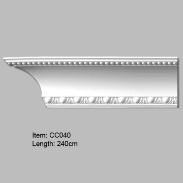 European Design PU Cornice Crown molding