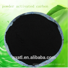 Food grade wood based powdered activated carbon/Used in pharmacy and drinks industry