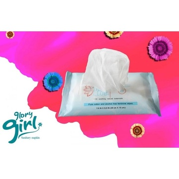 Borong 100 Cotton Wet Wipes
