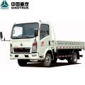 HOWO Light Truck 4X2 84PS 3t 12FT Cargo Truck