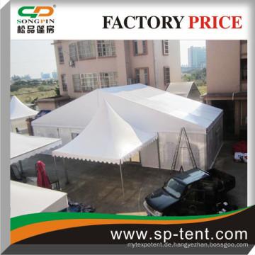 Mittlere Größe weißes 20x20m China-Partyzelt Heißer Verkauf