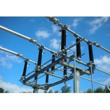 Interruptor de desconexión central de 138 kV Seccionador de seccionador de subestación (GW7B-145)