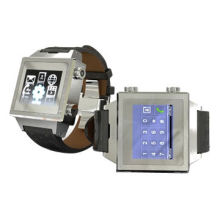 Senior Business Smart Watch Phone, 1.46-inch TFT LCD/Quad Band/Full Steel Body for BusinessmenNew