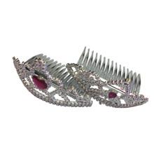 Nouvelle couronne de diadème princesse métallisée féerique en plastique