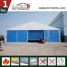 Tente de stockage temporaire extérieure à vendre, tente de stockage d'entrepôt pour événements